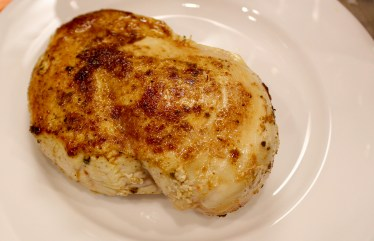 browned chicken breast