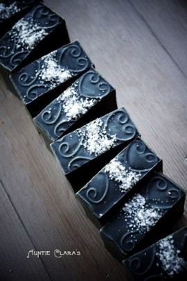 Salty Liquorice Soap by Auntie Clara's