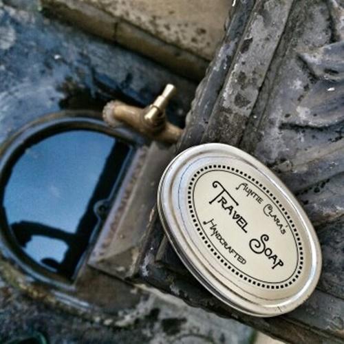 Travel Soap in Napoleon's bathroom