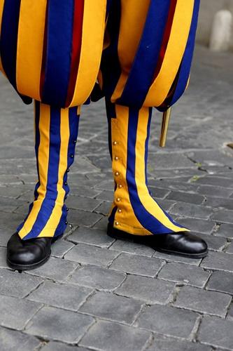 Swiss guard spats