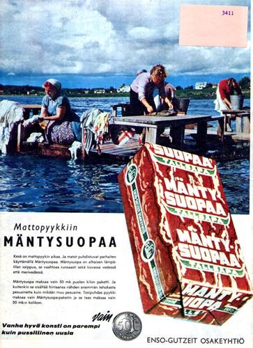Mäntysuopa advert