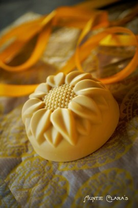 Sunflower Soap by Auntie Clara's