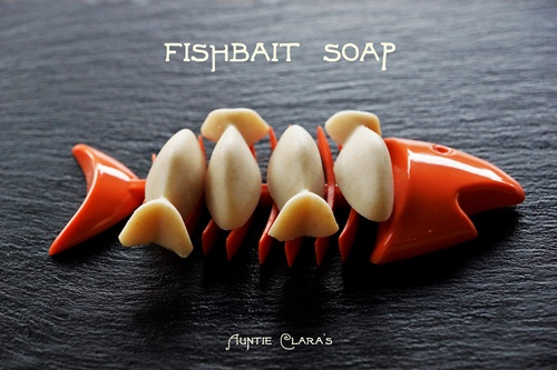 Fish bait soap