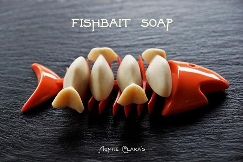 Fish bait soap