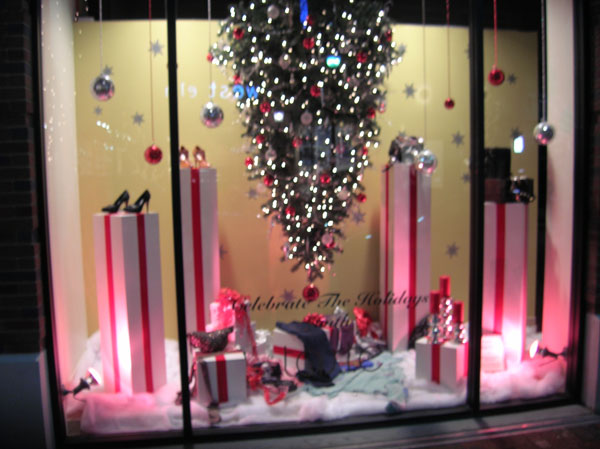 Learning From The Professionals Holiday Window Ideas For