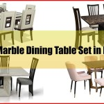 13 Best Marble Dining Table Set In Malaysia