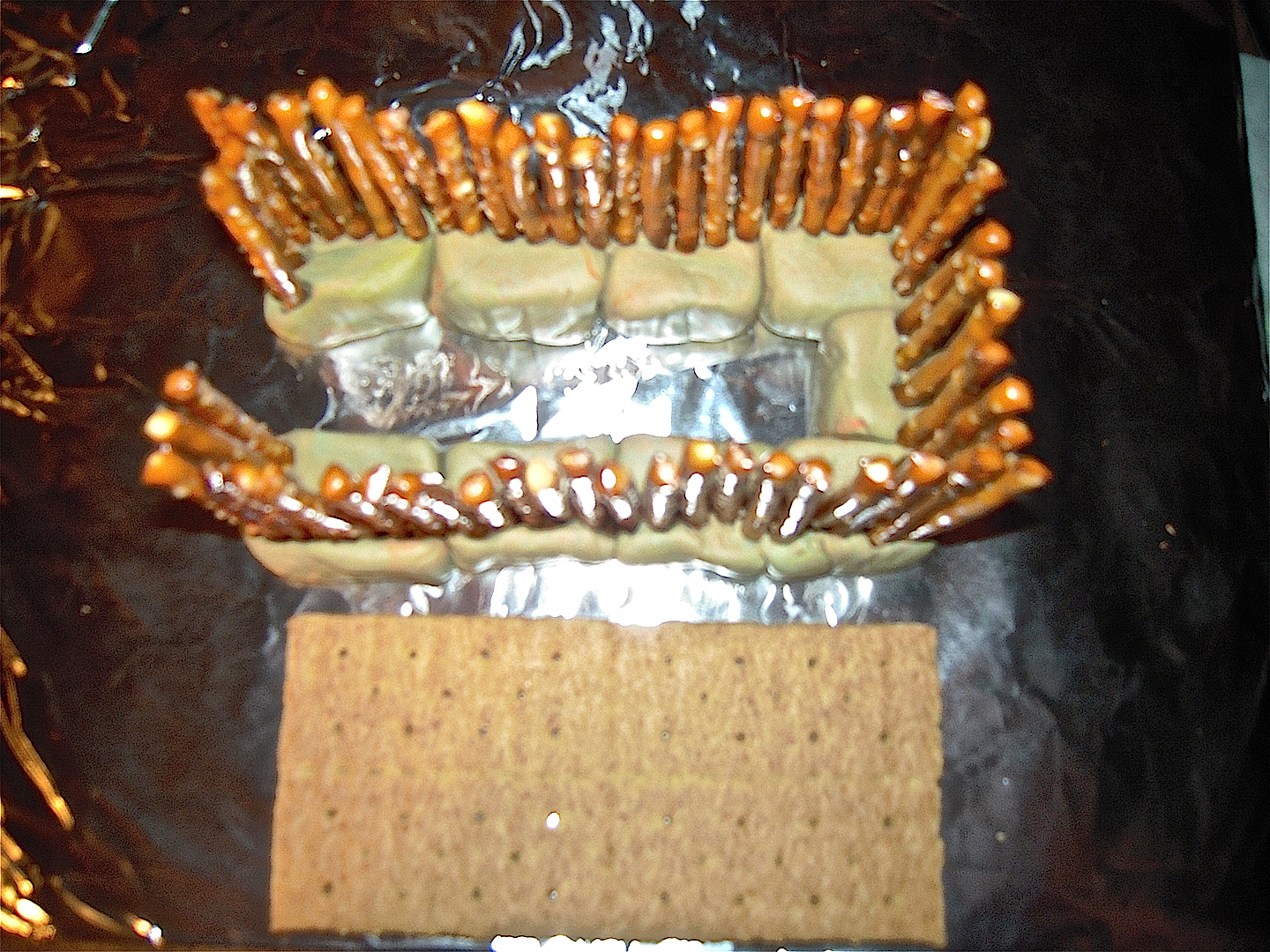 The Second Temple Is Built An Edible Craft For Kids