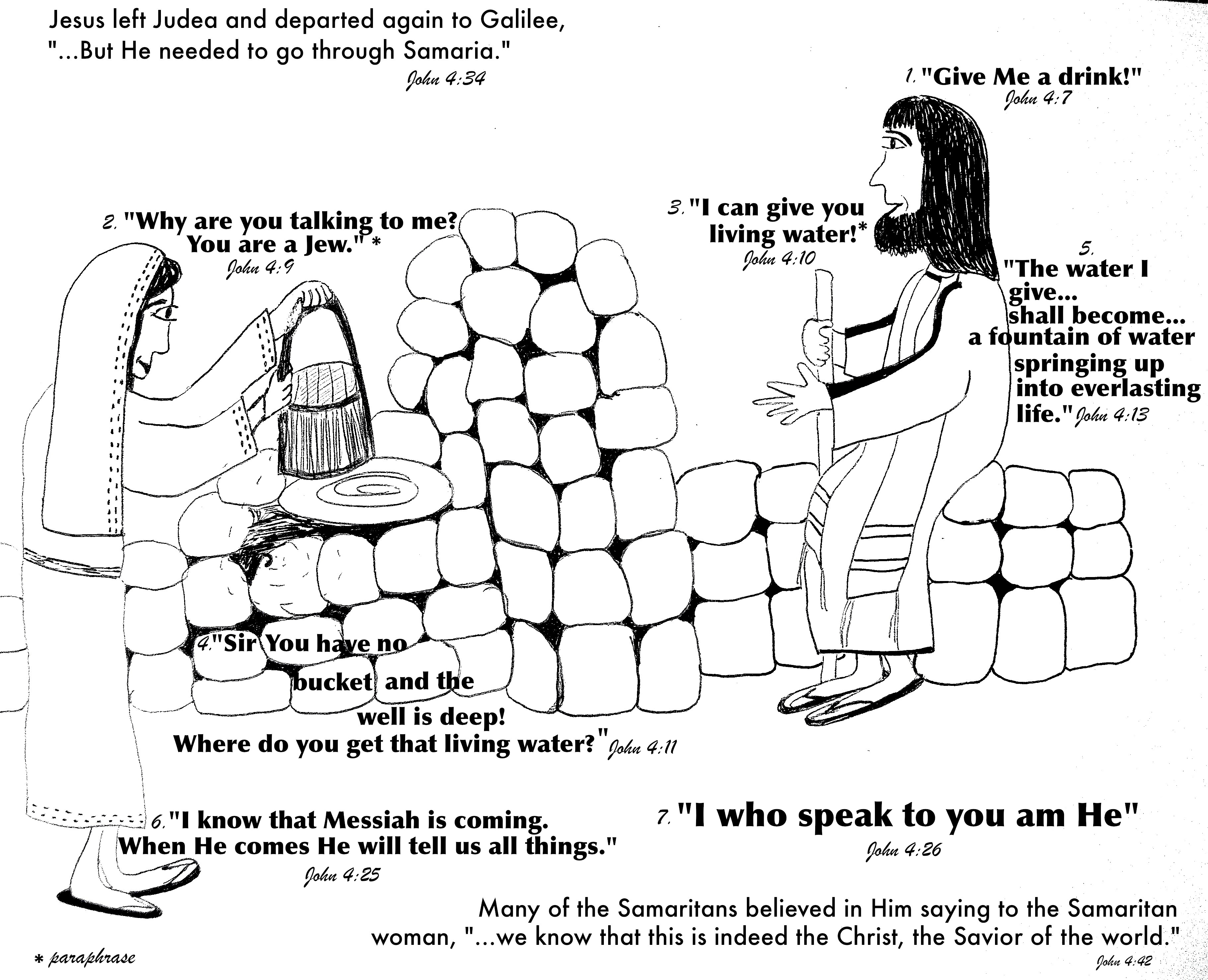 Samaria Woman At The Well