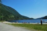 North Beach at Buntzen Lake