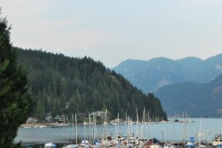 Can you see Quarry Rock up there? It certainly felt like we climbed higher than that!