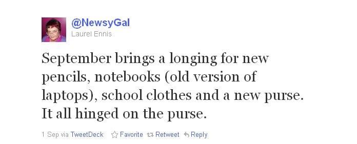 auntie stress twitter newsy gal