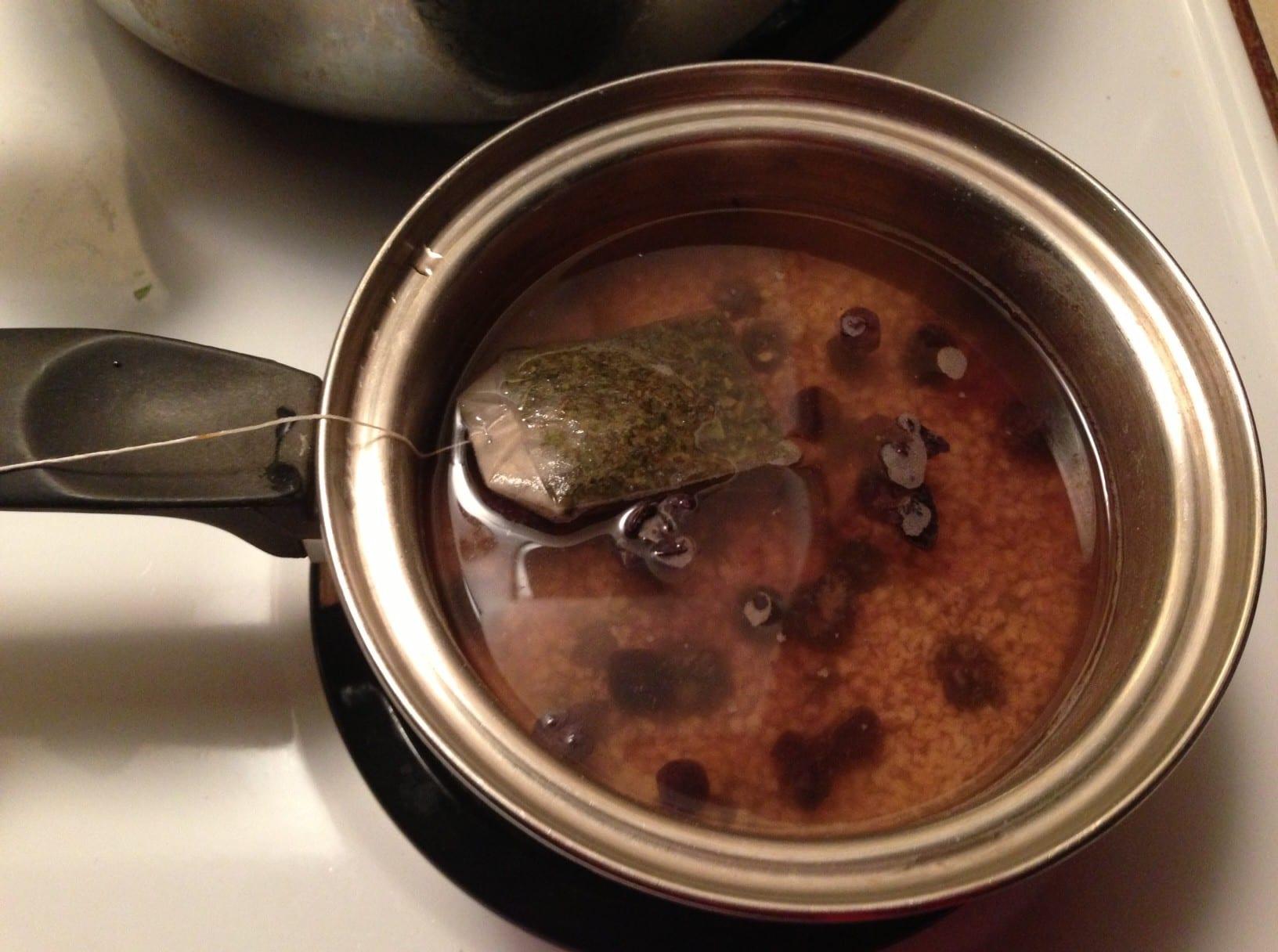 auntie stress porridge