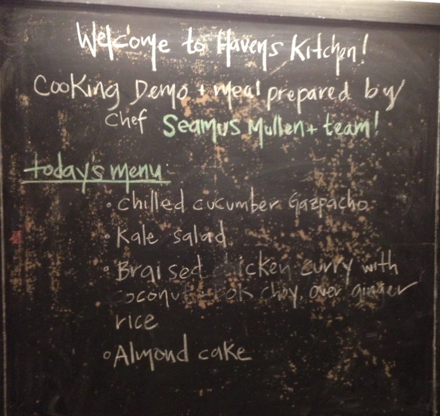 auntie stress haven's kitchen menu