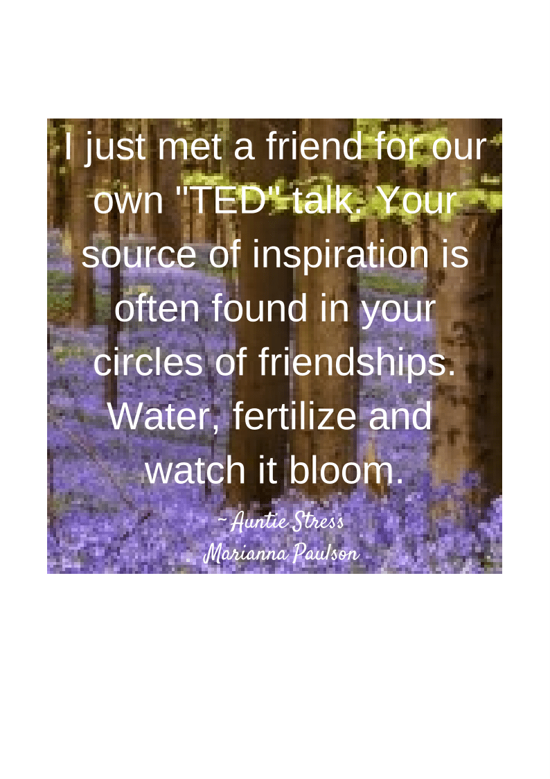 Circles of Friendships auntie stress