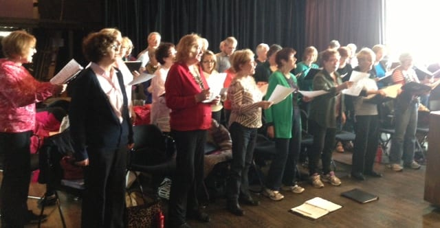 PALS Chorus Rehearsal
