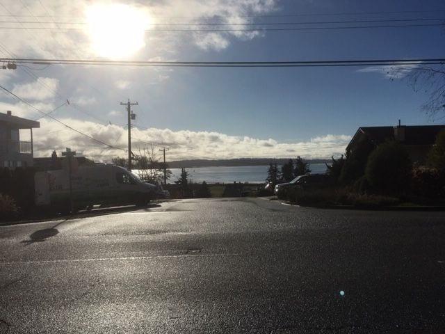 Semiahmoo Bay in the morning.