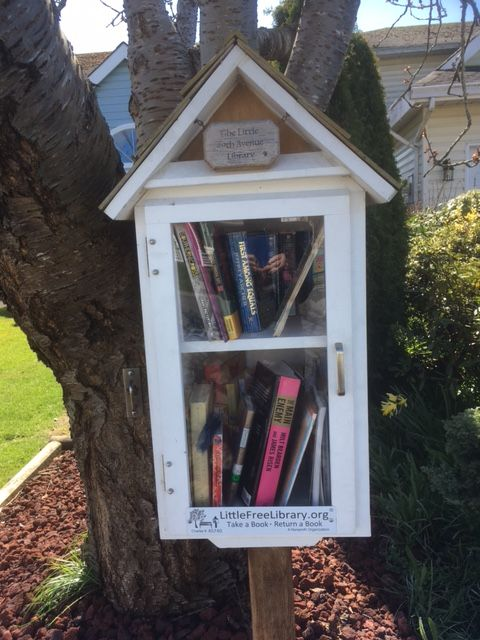 An image of a Little Free Library.LittleFreeLibrary.org