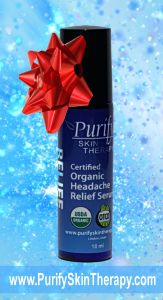 Giveaway for Holiday Headache Relief