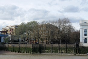 Wapping Waterside Gardens.