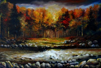 Autumn River Radiance