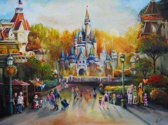 Disney Memories 18x24x1.5 2011