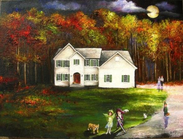 tom and denises moonlit autumn home auntlizzy