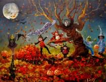 Moonlit Jolly Halloween 11x14 2015 - Copy (1024x795)