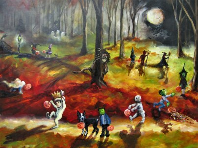 Moonlit Wild Things and the Trick or Treaters 2