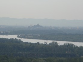 View of Avignon from Châteauneuf-du-Pape