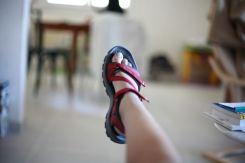 Essai de pieds - Léonie