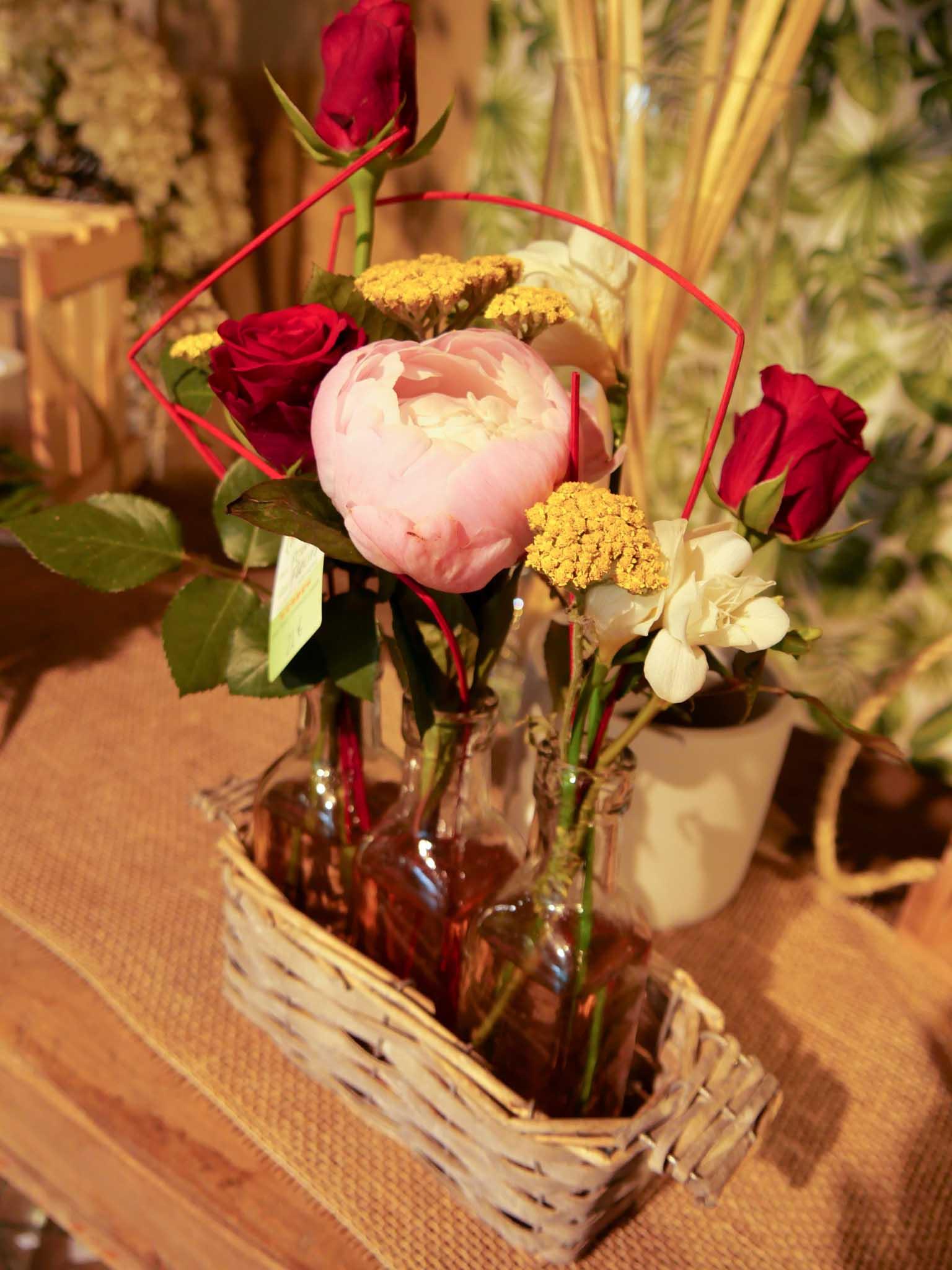 Composition florale Morlaix