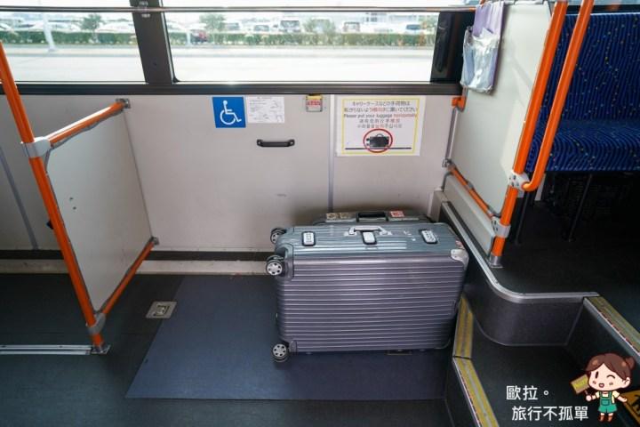 關西機場神戶高速船接駁車行李