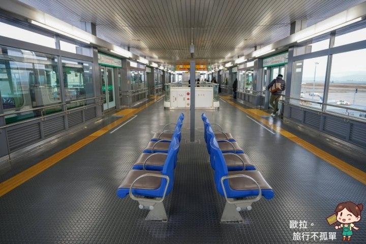 關西機場神戶高速船電車月台