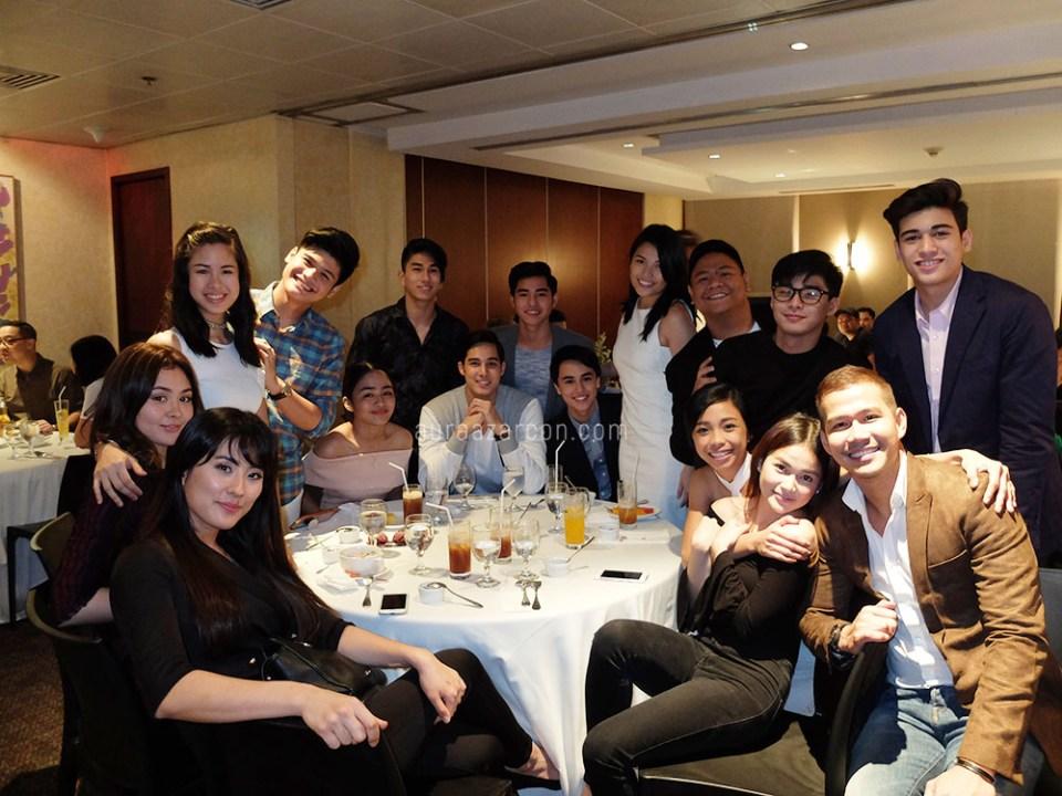 PBB Lucky Season 7 Dream Team with the Lucky 7 Teens