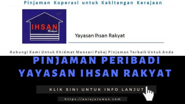 Pinjaman Peribadi Yayasan Ihsan Rakyat