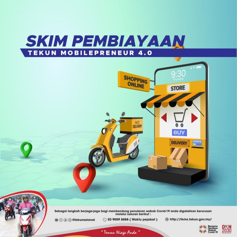 Pembiayaan TEKUN Mobilepreneur 2021: Permohonan & Syarat Kelayakan