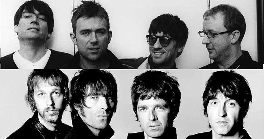 Blur vs. Oasis: come nacque la grande rivalità degli anni '90