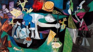 Night Fishing at Antibes: the analysis & meaning of Picasso's anti-war painting