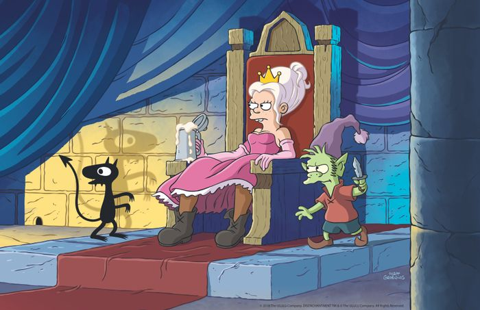 disenchantment-bean-throne