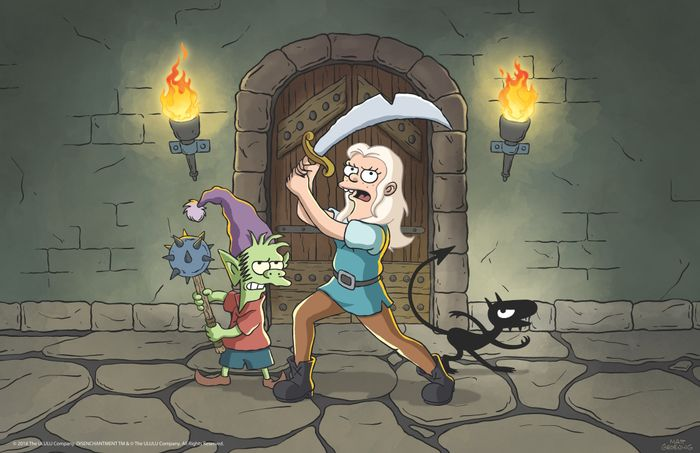 disenchantment-netflix-warrior-pose1