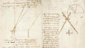 Gli appunti di Leonardo da Vinci sono ora consultabili online