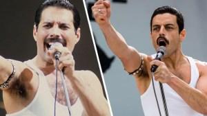 Bohemian Rhapsody: lo spettacolare video-confronto tra Freddie Mercury e Rami Malek