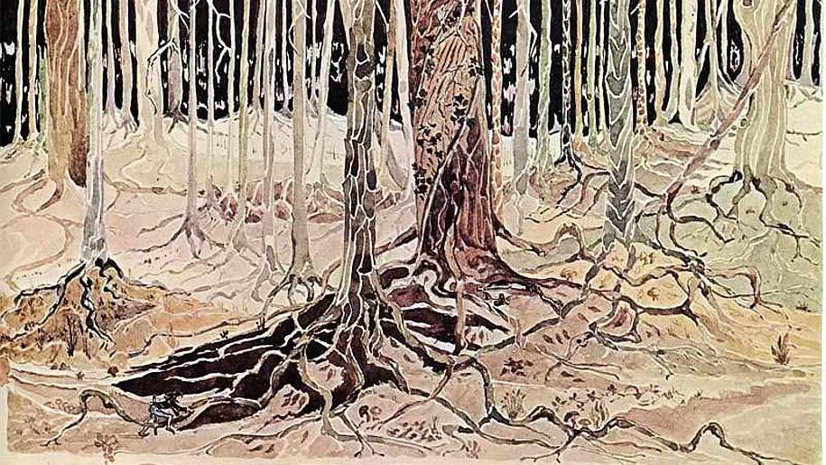Le illustrazioni realizzate da Tolkien per Il Signore Degli Anelli