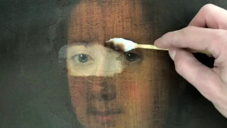 In cosa consiste il restauro di un'opera d'arte