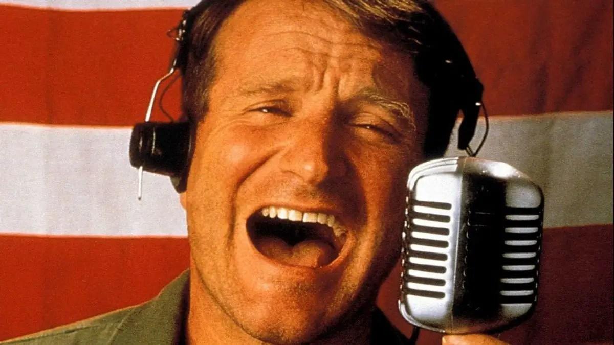 Good Morning Vietnam, Robin Williams e la guerra come commedia