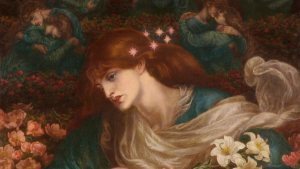 The Blessed Damozel, Dante Gabriel Rossetti e i Desperate Romantics