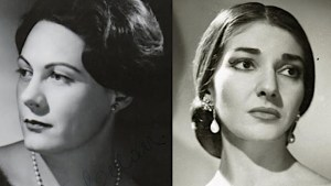 Maria Callas and Renata Tebaldi: the historical rivalry of Opera music