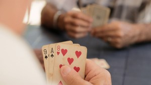 How card games help older people