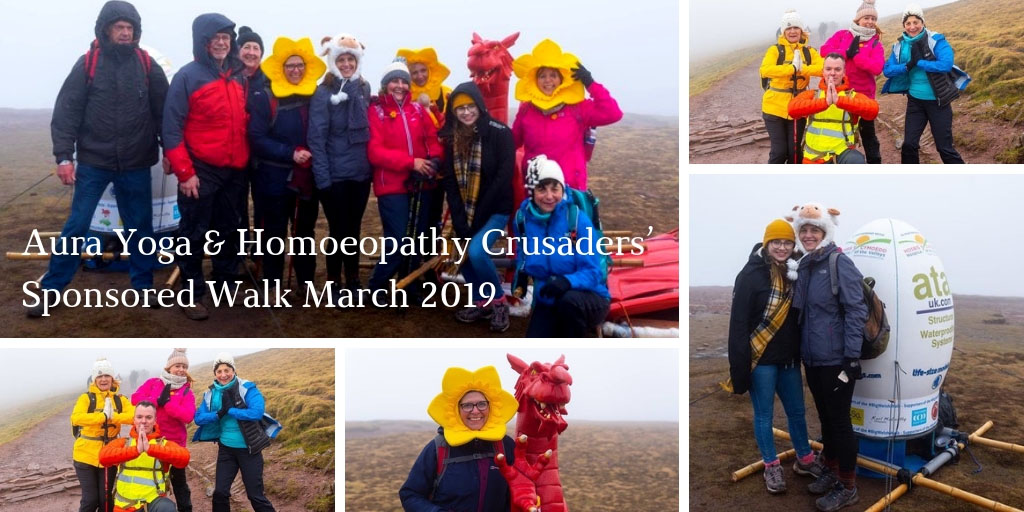 Aura Yoga Homoeopathy Crusaders Sponsored Walk March 2019