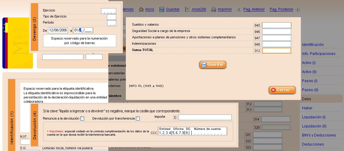 MNet200, impuesto sobre sociedades